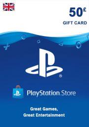 UK PSN 50 GBP Gift Card