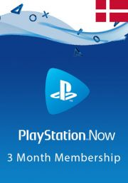 Denmark PlayStation Now 3-Month Subscription