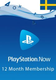 Sweden PlayStation Now 12-Month Subscription