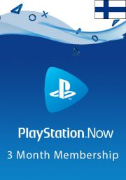 Finland PlayStation Now 3-Month Subscription