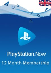 UK PlayStation Now 12-Month Subscription