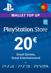 Portugal PSN 20 EUR Gift Card