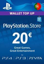 Portugal PSN 20 EUR Gift Card