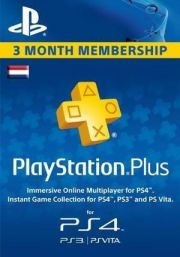 Netherlands PSN Plus 3-Month Subscription Code