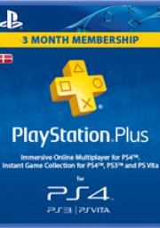 Denmark PSN Plus 3-Month Subscription Code
