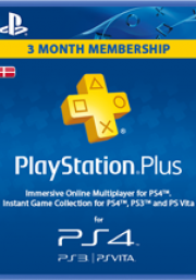 Denmark PSN Plus 3-Month Subscription Code