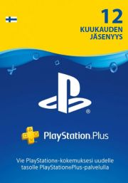 Finland PSN Plus 12-Month Subscription Code