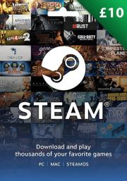 UK Steam 10 Pound Gift Card